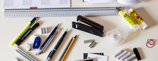 Words for basic office supplies